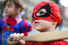 the most popular halloween costume for kids are superheroes