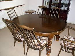 Ercol Dining Table And Chairs Dining Table 6 Ercol Dining Chairs Carvers Coffee