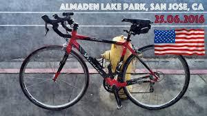 usa cycling in almaden lake park san jose ca 25 06 2016