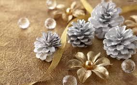 silver christmas silver christmas cones hd wallpaper