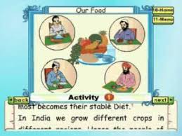 learn evs class 3 our food animation youtube