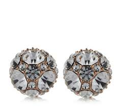 usher earrings frank usher earrings jewellery qvc uk