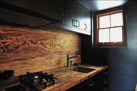 wood kitchen backsplash rustuc wooden backsplash design idea homebnc kitchen backsplash