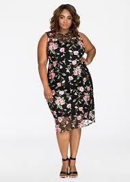 buy plus size mesh dress ashley stewart