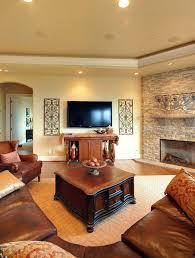 living room stone fireplace install wood mantel shelf burning