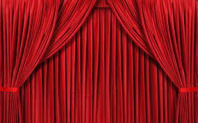 red curtain background 6959454