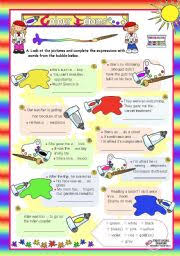 idiom worksheets for kids free worksheets library download and