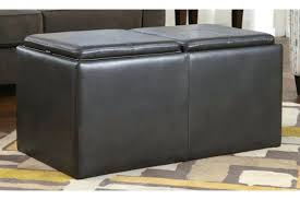 ottoman storage cubes ottoman tray leather look storage cube