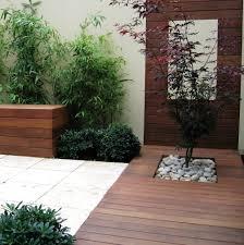 modern courtyard house design garden trends