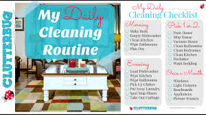 my daily cleaning routine clean with me vlog style youtube