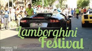 lamborghini aventador houston lamborghini festival houston tx