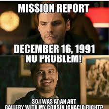 December Meme - mission report december 16 1991 mission report december 16th
