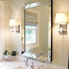 Bathroom Mirrors Framed by Suzie Mirrors Williams Sonoma Home Five Panel Beveled Mirror