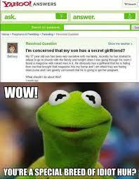Yahoo Meme - funny yahoo answers fail