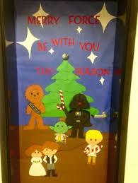wars decorations wars christmas yoda classroom door teaching