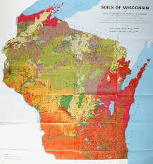 U Of M Map Ecology And Natural Resources Soils Of Wisconsin Soils Of