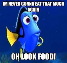 Meme Eat - blue fish