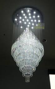 large ceiling chandeliers 80cm large modern sphere led k9 pendant l ceiling