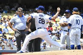 dodgers rotation notes rich hill could start sunday bud norris