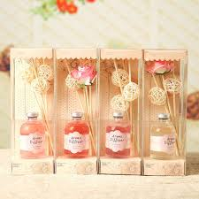 scented indoor l oil 4pcs different 60ml dried flower rattan sticks aroma diffuser