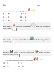 division as grouping worksheets by gorgon10 teaching resources tes