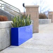 contemporary planter box fiberglass 54
