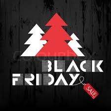 christmas tree sales black friday black friday sales advertising poster on white background new and
