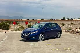 2018 nissan leaf first drive better without branching out the verge