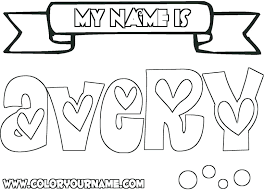 printable coloring pages of your name printable coloring pages names coloring pages with name printable