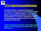 TTO <b>hiperhomocisteinemia</b>