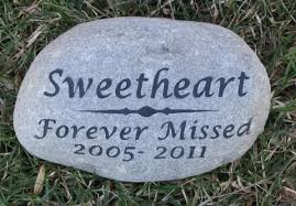 grave marker personalized cat dog memorial grave marker 8 9 inch memorial