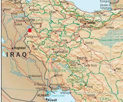 map iran iraq at least 30 dead 200 hurt in iran iraq quake newsmax