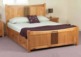 Solid Wood Bed Frame King Choosing Solid Wood King Bed Modern King Beds Design