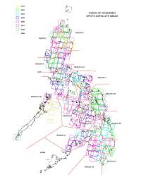How To Read A Topo Map Namria The Central Mapping Agency Of The Government Of The