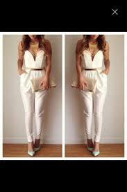 white and gold jumpsuit white and gold jumpsuit clothing