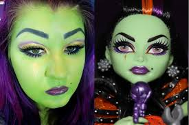 casta fierce monster high makeup tutorial youtube