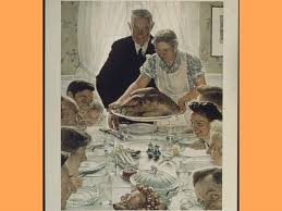 the story norman rockwell s thanksgiving picture breitbart
