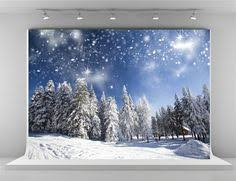 kate 7x5ft winter photography backdrops frozen snow