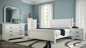 bedroom design galery of white and brown bedroom furniture