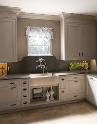 Kitchen Cabinets Inset Doors by Coronado Recessed Door Style Shown In Vintage Dover Cliffs Finish