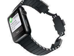 black link bracelet images Apple watch link bracelet kit now available in space black macworld jpg