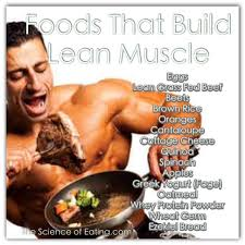 building muscle requires an increase in calories and you must eat
