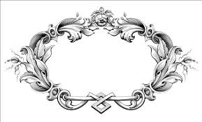 baroque ornaments frame vector vector frames borders vector