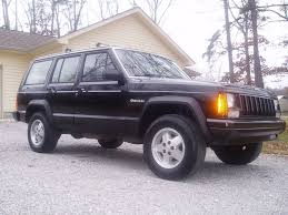 beige jeep cherokee detailed black 1987 jeep cherokee lots of pictures