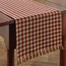 Designs For Runners Checked Gingham Table Runners Ebay