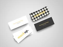 slim business cards slim business card mock up free on behance