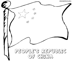 chinese flag coloring pages coloring pages to download and print