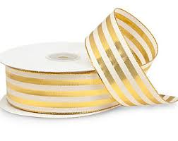 gold ribbon gold ribbon etsy