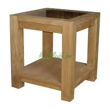 teak wood side table reclaimed teak small side table top glass teak furniture producer