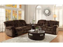 homelegance living room double recliner glider loveseat with